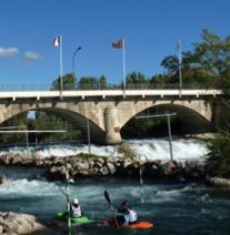 Parcours de Kayak