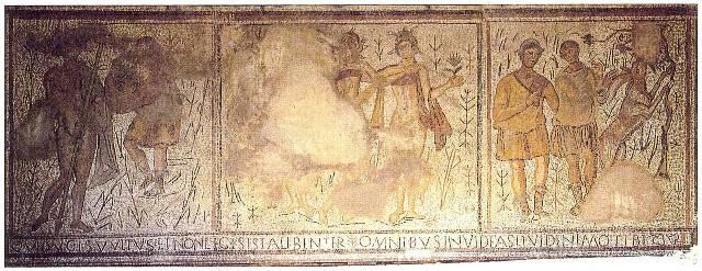 Un peu d'histoire Mosaique de Pèbre image